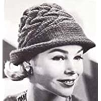 Knit Swagger Hat Vintage Knitting Pattern Fedora Hat Cap (English Edition)