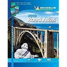 USA Canada Mexico 2019 - Tourist & Motoring Atlas: Tourist & Motoring Atlas A4 spiral (Michelin Road Atlases)