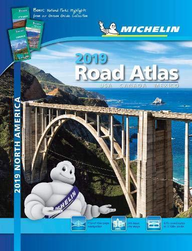 Michelin North America Road Atlas 2019 (Atlas (Michelin)) por Michelin