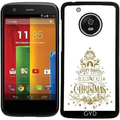 Hülle für Lenovo (Motorola) Moto G5 - Holly Jolly Christmas