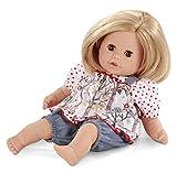 Götz 1416057 Cosy Aquini blonde Haare - Badepuppe mit weichem Körper, 33cm, braune Augen, schnelltrocknend