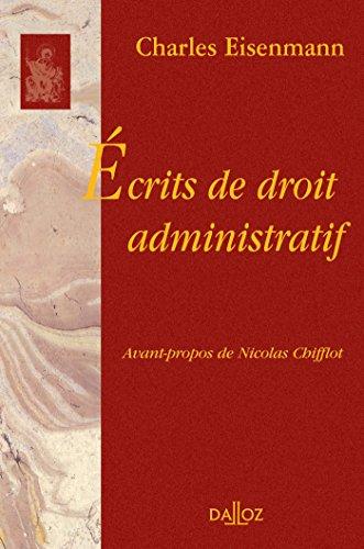 Ecrits de droit administratif