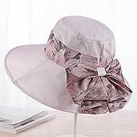 LTQ&qing Gorra de sol del visera del sombrero del verano del verano del sombrero del verano del sombrero , D , m (56-58cm)