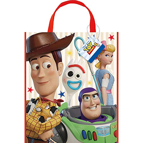 ovie Plastic Tote Bag for Party Favor - 13 x 11 Inches - 1 Unit ()