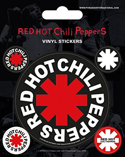 red-hot-chili-peppers-sticker-set-10x125cm-by-red-hot-chili-peppers