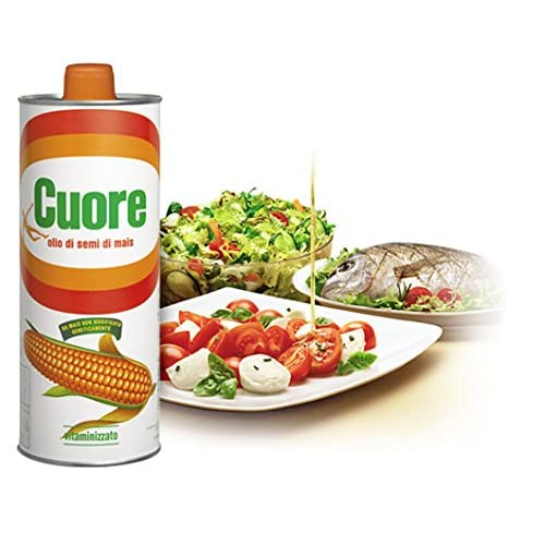 Olio Cuore Olio Mais Aus Italien Maissamenl Maiskaiml Maisl Corn Oil 1lt