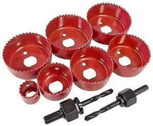 Am-Tech Pro Set scie-cloches 9 pièces (Import Grande Bretagne)