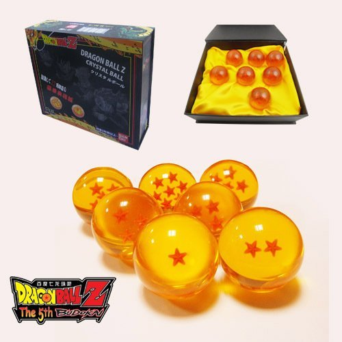 Super9 Dragonball Z Sterne Crystal Ball Set DBZ 7pcs in einer Box (Dragon Ball Z Set)