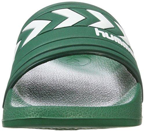 Hummel Unisex-Erwachsene Larsen Slipper Smu Dusch-& Badeschuhe Grün (Evergreen)