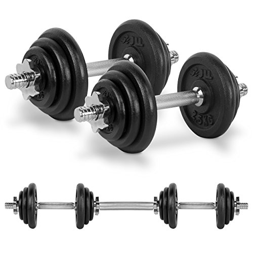 JLL® Gusseisen, 20kg Kurzhantel-Set (Gusseisen-werkzeug-set)