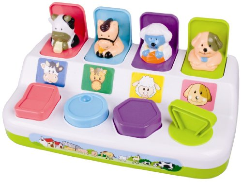 My Precious Baby Pop-up Farm Animals Playset