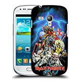 Head Case Designs Offizielle Iron Maiden Best of Beast Kunst Ruckseite Hülle für Samsung Galaxy S3 III Mini