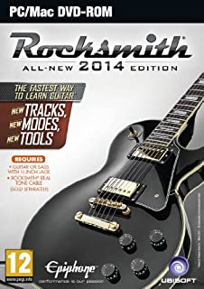 Rocksmith 2014 Edition (PC DVD) (B00CMJ1E5M) | Amazon price tracker / tracking, Amazon price history charts, Amazon price watches, Amazon price drop alerts