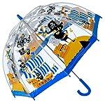 Bugzz PVC Dome Umbrella for Children - Pirates