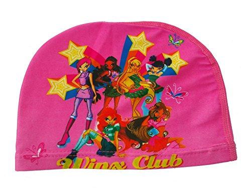 ChenStarUK bunte Kinder-Badekappe mit Komikfiguren für Jungen oder Mädchen, Winx Club, Einheitsgröße
