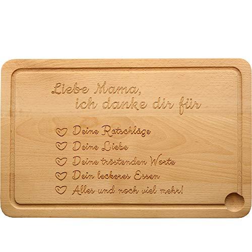 Cucina–tagliere in legno di faggio naturale–per la mamma migliore del mondo–tagliere in legno, pane tempo brett, tagliere perfetto come regalo per tutte le mamme non solo per la festa della mamma