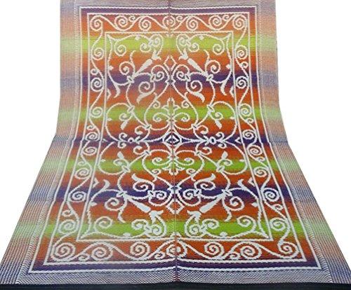 decorativi tappetino polipropilene materiale plastico grande tappeto piano straccio marrone