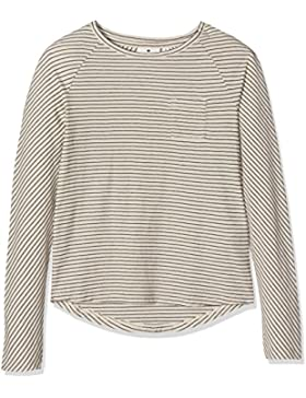 Tom Tailor Kids Striped Raglan Tee, Camisa Manga Larga para Niñas
