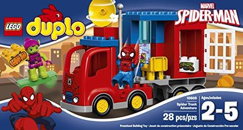 Image of LEGO DUPLO Spider-Man Spider Truck Adventure Figure