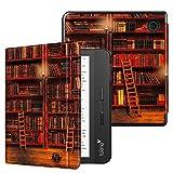 Fintie SlimShell hoes voor Kobo Libra H2O 7-inch eReader - Lichtgewicht Beschermend Cover met Automatische Slaap/Wek Functie, Library