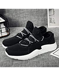 WDDGPZYDX Zapatos Casuales de diseño Hombres Zapatos de tiburón para Hombre Patchwork Zapatos de Hombre Zapatillas