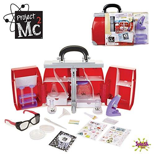 Splash Toys - 31017 - Projet Mc2 - Ultimate Lab Kit - La mallette secrète des espionnes MC2