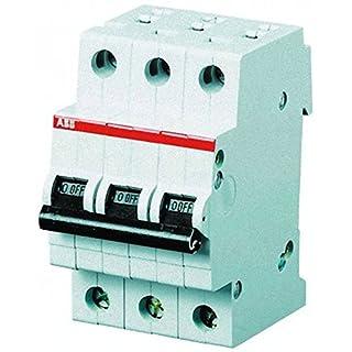 ABB Stotz S&J Sicherungsautomat S203-C63 6kA 63A C 3p System pro M compact Leitungsschutzschalter 4016779551076