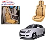 #3: Auto Pearl - Premium Quality Car Wooden Bead Seat Cover For - Maruti Suzuki Swift Dzire Type-1 - Set Of 2Pcs