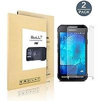 [2-Pack]Samsung Galaxy Xcover 3 Pellicola Protettiva, EasyULT 2 Pack Pellicola Protettiva in Vetro Temperato per Samsung Galaxy Xcover 3(Vetro con Durezza 9H, Spessore di 0,26 mm,Bordi Arrotondati da 2,5D-Shockproof, Trasparenza ad alta definizione)