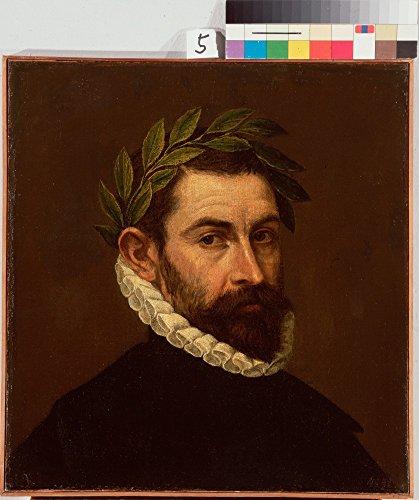 Greco-malerei (Das Museum Outlet-Greco, El-Porträt der Dichter Alonso Ercilla y Zuniga, gespannte Leinwand Galerie verpackt. 96,5x 121,9cm)