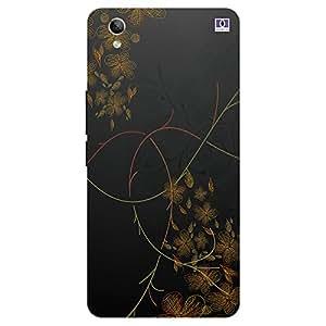 Flowers Design - Mobile Back Case Cover For Vivo Y 51L