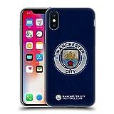 Head Case Designs Officiel Manchester City Man City FC Affligé 2017/18 Insigne Coque en Gel Doux Compatible avec iPhone X/iPhone XS