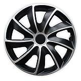 Radkappen Bicolor 15 Zoll Peugeot 1007, 206 SW CC Plus, 207 SW CC, 306, 307, 308, 406