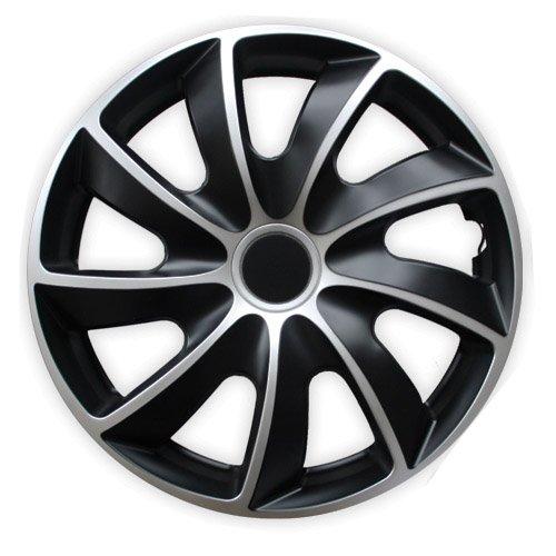 Radkappen Bicolor 15 Zoll Volkswagen VW Bora, Caddy, Corrado, Fox, Golf 2, 3, Jetta, Vento, Cabrio (Vw Jetta Radkappen)