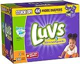 Pañales Ultra Leakguards de Luvs, 148 unidades