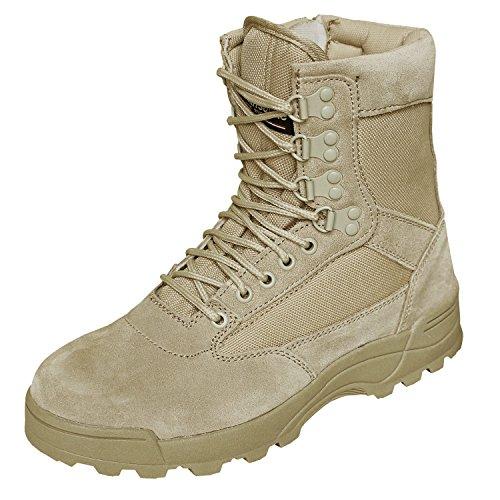 Brandit SWAT Tactical Boot Zipper Sandfarben - 46