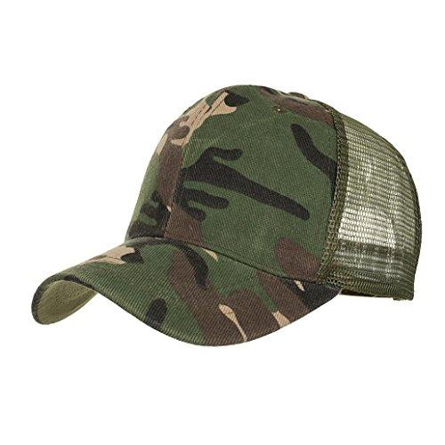 LMMVP Sombrero Sombreros de Malla de Verano Gorro de Camuflaje para Hombres  Mujeres Casual Sombreros de d31e67f3b4a