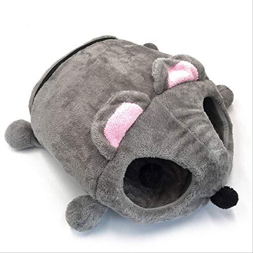 SXPET Cuccia a Forma di Topolino, con Fondo Rimovibile e Impermeabile, per Gatti e Cani di Piccola Taglia