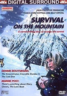1-DVD SPEELFILM - SURVIVAL ON THE MOUNTAIN