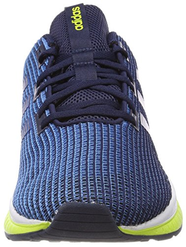 adidas Herren Questar TND Laufschuhe Blau (Collegiate Navy/solar Yellow)