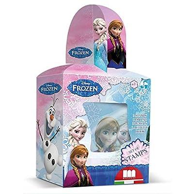 Caja Regalo 3 Sellos+Lapices+Actividades Disney Frozen por Disney Frozen
