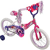 "Huffy Disney Princess 16"" Bike w/Handlebar Magic Mirror"