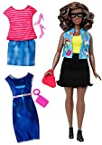 Barbie Fashionistas Doll & Fashions Emoji Fun, Curvy