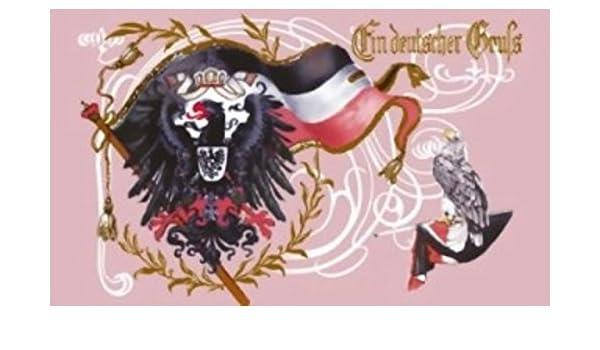 DR 52 Gott schütze Deutschland Fahne 90 x 150cm Deutschland Flagge