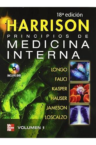 Harrison Principios De Medicina Interna Con Dvd