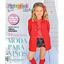 Revista patrones de costura infantil, nº 5. Moda Otoño-Inviervo, 30 modelos