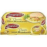 Saupiquet thon sauce moutarde bipack 135g x2 - Prix Unitaire - Livraison Gratuit Sous 3 Jours
