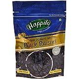 Happilo Premium Afghani Seedless Black Raisins, 250g (Pack of 5)