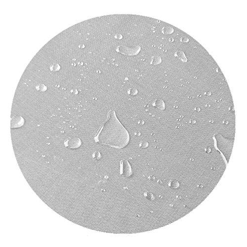 DecoHomeTextil Transparente Folie Tischdecke LFGB Rund Oval Dicke & Größe Wählbar Rund 90 cm 0,3 mm abwaschbare Tischdecke Lebensmittelecht