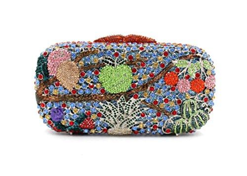 Dinner-Paket Europa und den Vereinigten Staaten Stil Damen Tasche Beutel Obst Paket Diamantbohrer 4 Farb color 2
